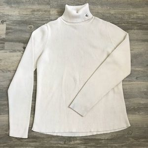 Lauren Ralph Lauren Cream Turtleneck Sweater